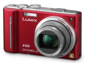 Panasonic Lumix DMC-TZ10 Red