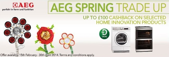 AEG Kitchen Appliances - Spring Cashback Promotion!