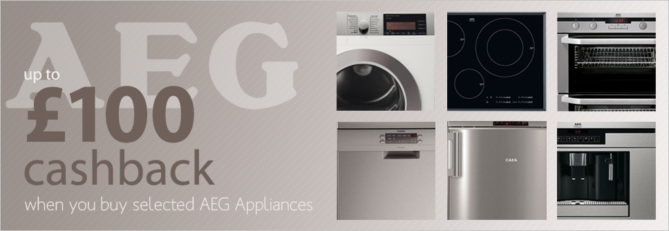 AEG Appliance Cashback Promotion