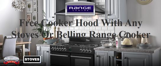 Belling | Stoves Range Cooker Promotion - Free Cooker Hood