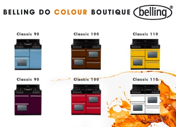 Belling Boutique Range Cookers