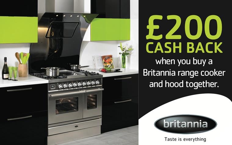 Britannia Range Cooker Cashback Promotion