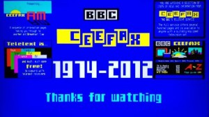 Ceefax's Last Page - End Of An Era