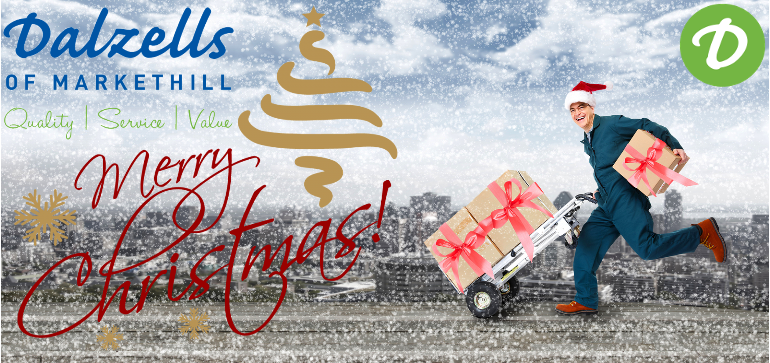 Christmas 2020 - Thank-you from all at Dalzells of Markethill