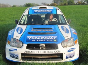 Darren Gas The Circuit Of Ireland Rally 2011