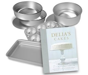 Free Delia Bakeware & Cake Cookbook Worth More Than £100!
