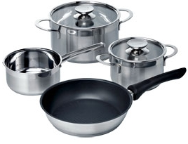 Free Induction Saucepans