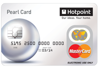 Hotpoint Cashback Promotion Pre-loaded Mastercard