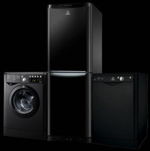 Indesit Nero Domestic Appliance Collection