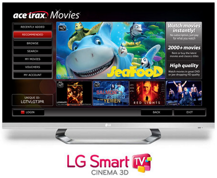 LG Smart TV Retailer Northern Ireland