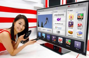 LG's NetCast  3D TV Multimedia Platform