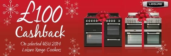 Leisure Range Cookers - Up To £100 Cashback!