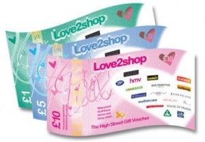 Love2Shop Voucher Retailer Northern Ireland