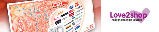 Love2Shop Vouchers Now Accepted At Dalzells!