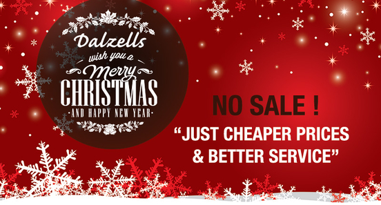 Merry Christmas and Happy New Year from all at Dalzells