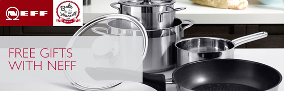 Neff Induction Hob Promotion - Free Saucepans