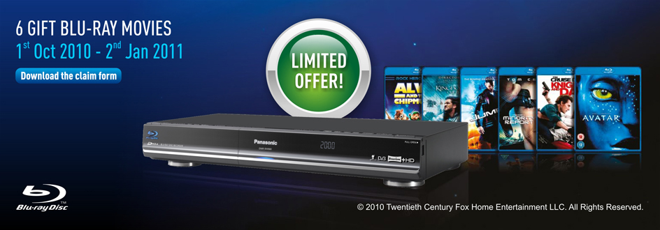 Panasonic Blu-ray Players Northern Ireland