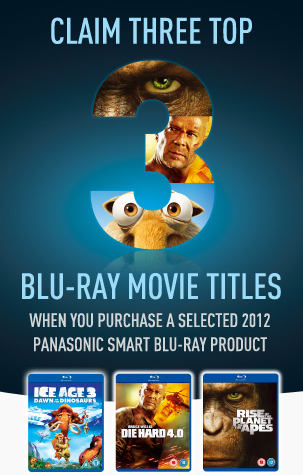 Panasonic Blu-ray Promotion