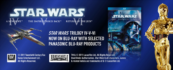 Panasonic Star Wars Blu-ray Promotion
