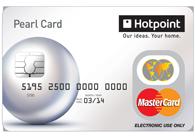 Pre-loadad Hotpoint Mastercard
