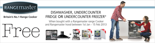 Rangemaster Free Appliances Promotion