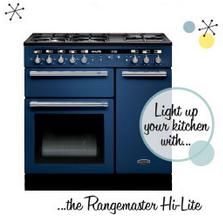 Rangemaster Hi-Lite Monaco Blue Range Cooker