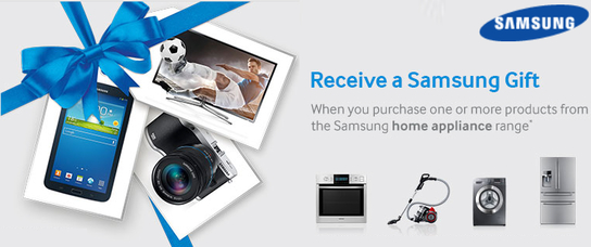 Samsung Home Appliances - Free Gift Promotion!