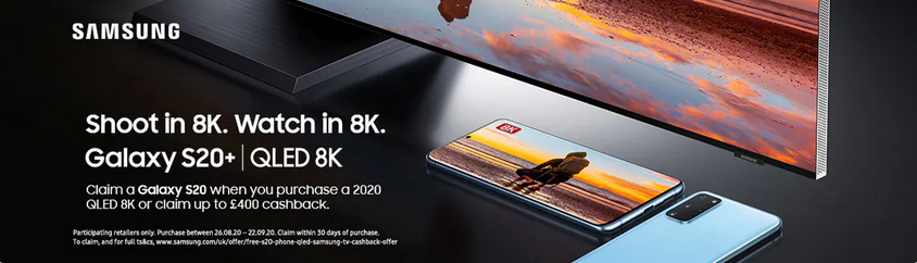 Samsung QLED TV Promotion Northern Ireland