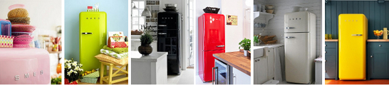 Smeg Retro Fridge Freezers and Fridges