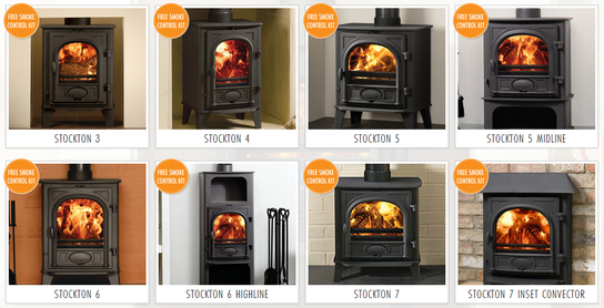 Stovax Stockton Multifuel Stoves Northern Ireland