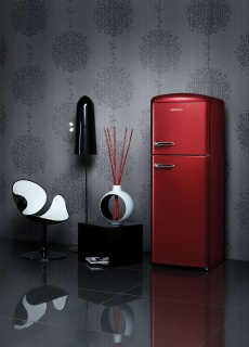 Gorenje Ambient Retro Chic Refrigerator NI