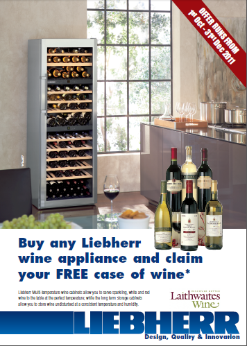 Liebherr Wine Fridge Promotion