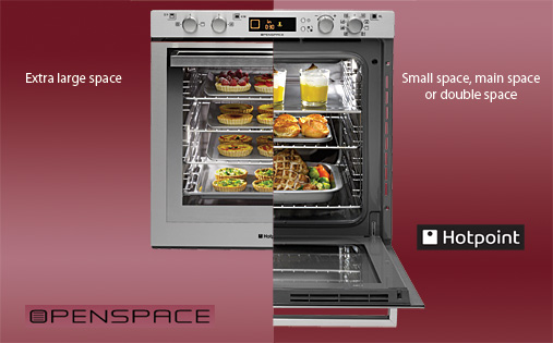 Hotpoint Openspace Electric Oven NI