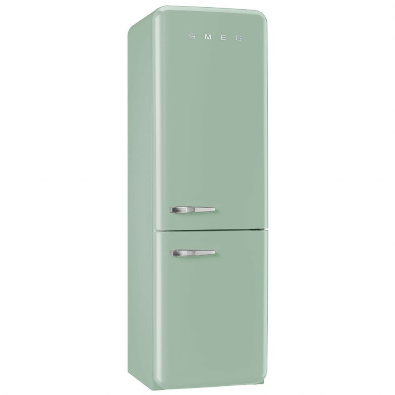 smeg 50 39 s retro style fab32rng no frost fridge freezer pastel green dalzells n ireland. Black Bedroom Furniture Sets. Home Design Ideas