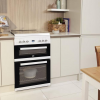 Beko EDG6L33W Gas Cooker