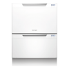 Fisher & Paykel DD60DCHW7 Double Tub DishDrawer - White