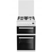 Beko EDG506W 50cm White Gas Cooker