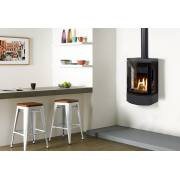Gazco Loft Wall Mounted Gas Stove