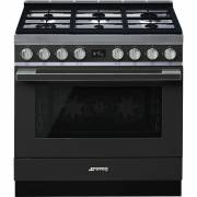 Smeg CPF9GPAN - 90cm Portofino Aesthetic Cooker with Pyrolytic Multifunction Oven and Gas Hob