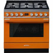 Smeg CPF9GPOR - 90cm Portofino Aesthetic Cooker with Pyrolytic Multifunction Oven and Gas Hob