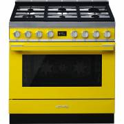 Smeg CPF9GPYW - 90cm Portofino Aesthetic Cooker with Pyrolytic Multifunction Oven and Gas Hob
