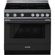 Smeg CPF9IPAN - 90cm Portofino Aesthetic Cooker with Pyrolytic Multifunction Oven and Induction Hob
