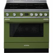 Smeg CPF9IPOG - 90cm Portofino Aesthetic Cooker with Pyrolytic Multifunction Oven and Induction Hob