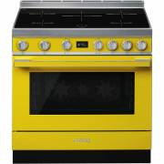 Smeg CPF9IPYW - 90cm Portofino Aesthetic Cooker with Pyrolytic Multifunction Oven and Induction Hob