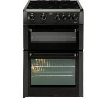 Beko BDVC663K Double Oven Electric Cooker - Black