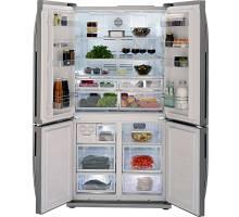 Beko GNE114610APX Freestanding American Style Fridge Freezer