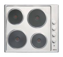 Beko HIZE64101X Integrated Sealed Plate Hob Stainless Steel