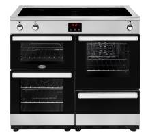 Belling Cookcentre 100EIPROFSTA Electric Induction Range Cooker