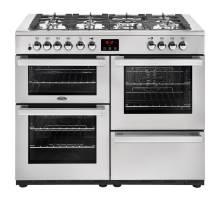 Belling Cookcentre 110DFTPROFSTA Dual Fuel Range Cooker