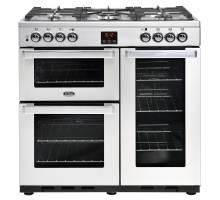 Belling Cookcentre 90DFTPROFSTA Dual Fuel Range Cooker